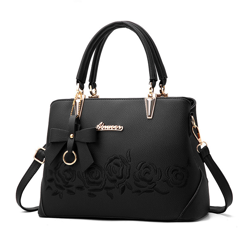 women bag Fashion Casual women's handbags Luxury handbag Designer  Shoulder bags new bags for women 2019 bolsos mujer black