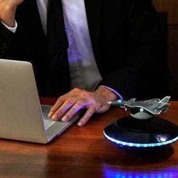 Expensive Modern Levitation Wireless LED Lights Bluetooth Speakers