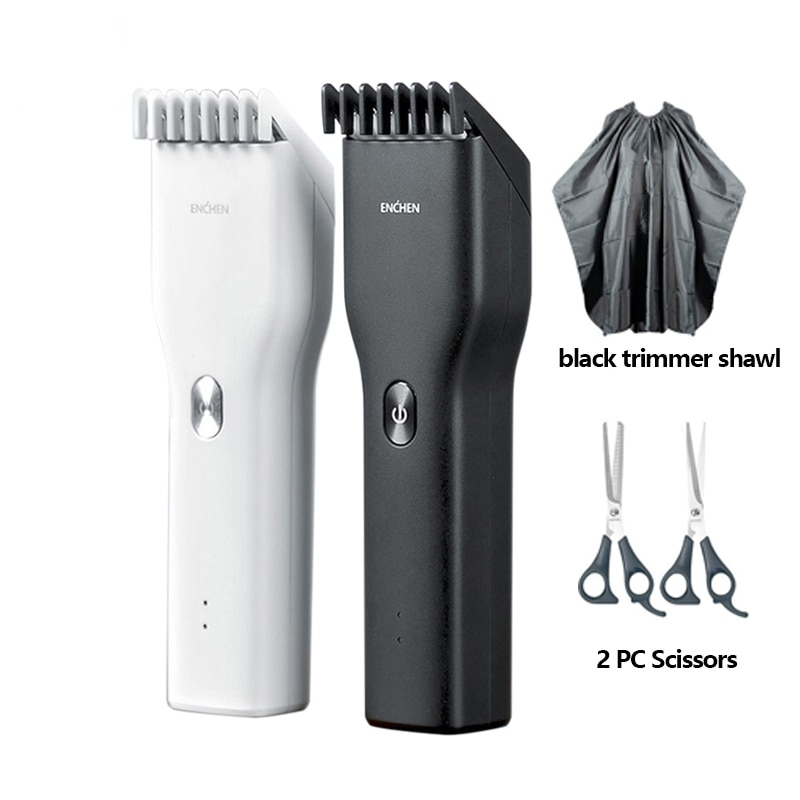Electric Hair Trimmer Clipper USB Ceramic Hair Cutter Fast Charging