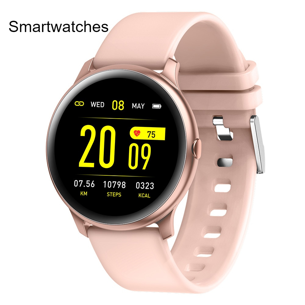 LIGE Fashion Sports Smart Watch Men Women Fitness tracker man Heart rate monitor Blood pressure function smartwatch For iPhone